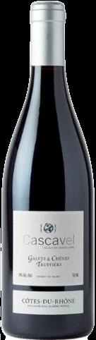 Maison Cascavel, Sélections parcellaires, Galets & Chênes Truffiers, AOP Côtes du Rhône, Rouge, 2020