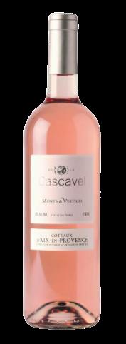 CASCAVEL  MONTS & VERTIGES Rosé - AOP CÔTEAUX D'AIX-EN-PROVENCE