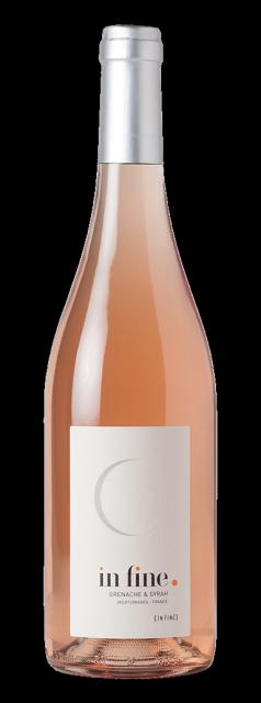 In Fine, Vin de Pays, IGP  Méditerranée, Rosé, 2019