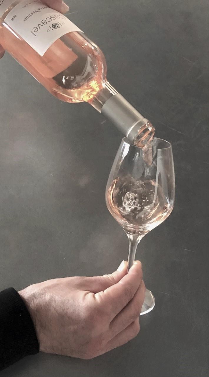 verre de rosé