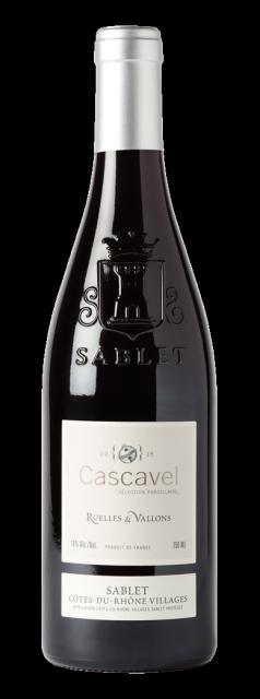 Cascavel, Ruelles & Vallons Vin biologique, AOC Côtes du Rhône Villages Sablet, Rouge, 2017
