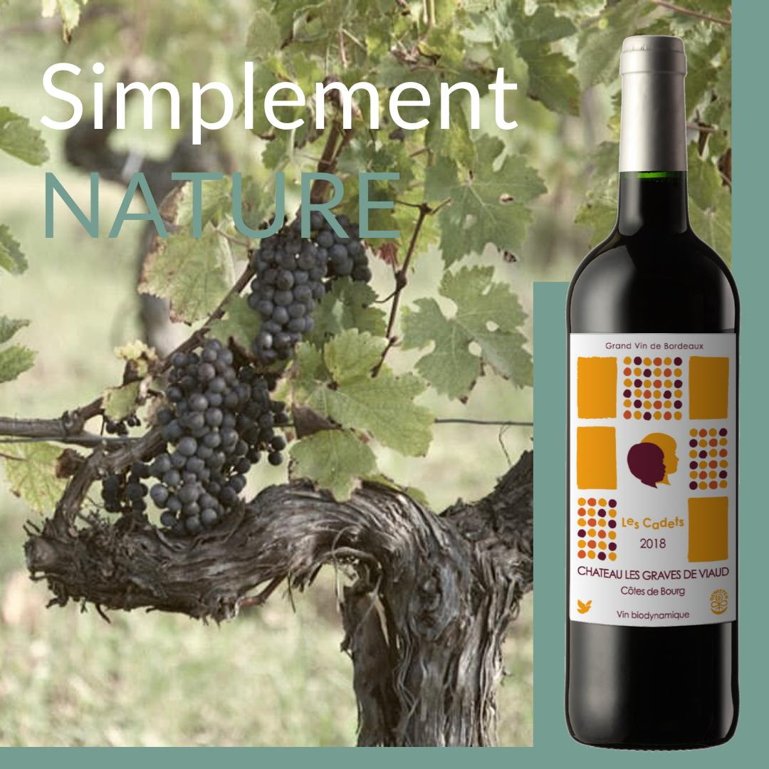 simplement nature bouteille cadets FADE