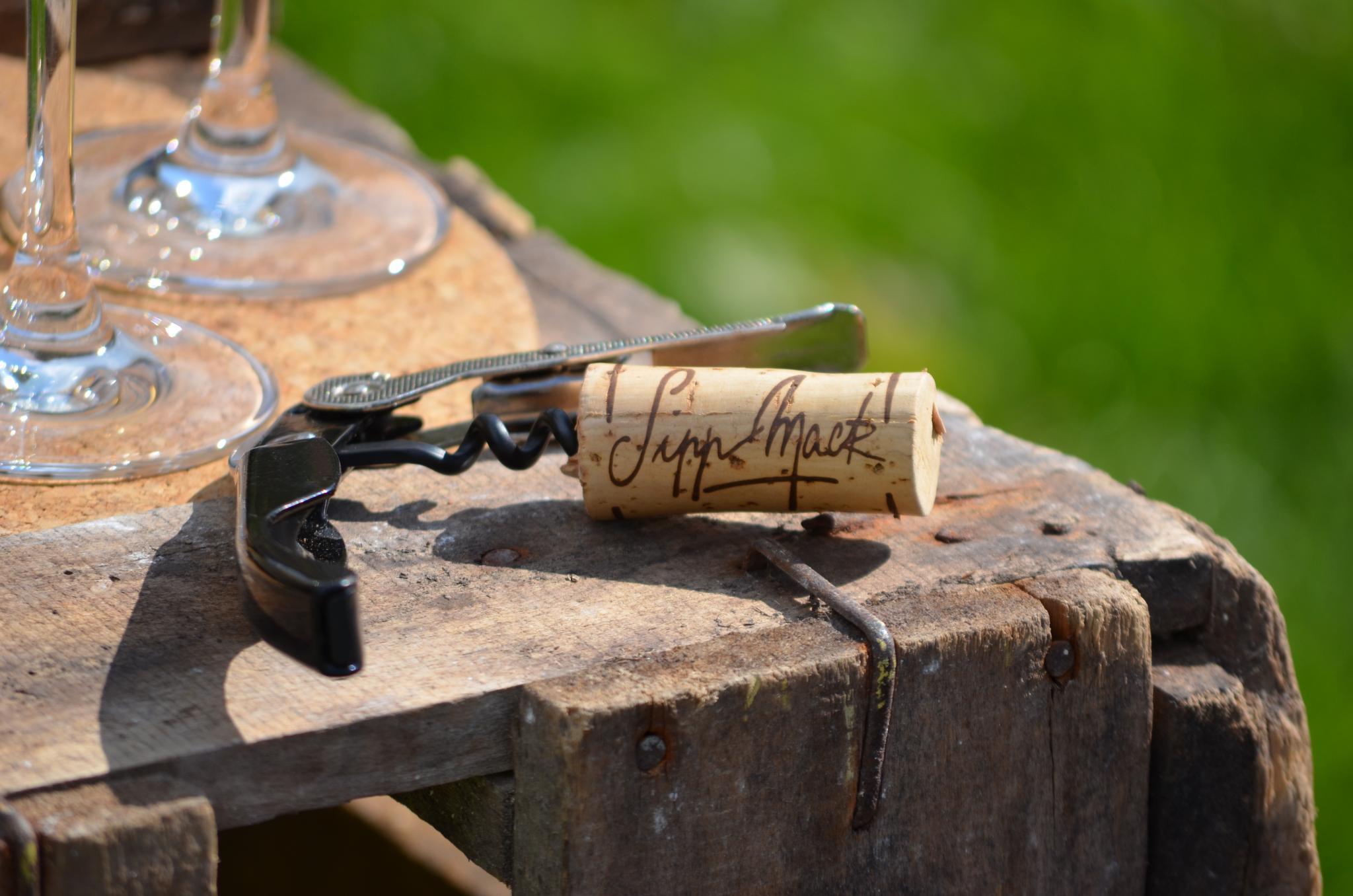 Ever handy corkscrew!