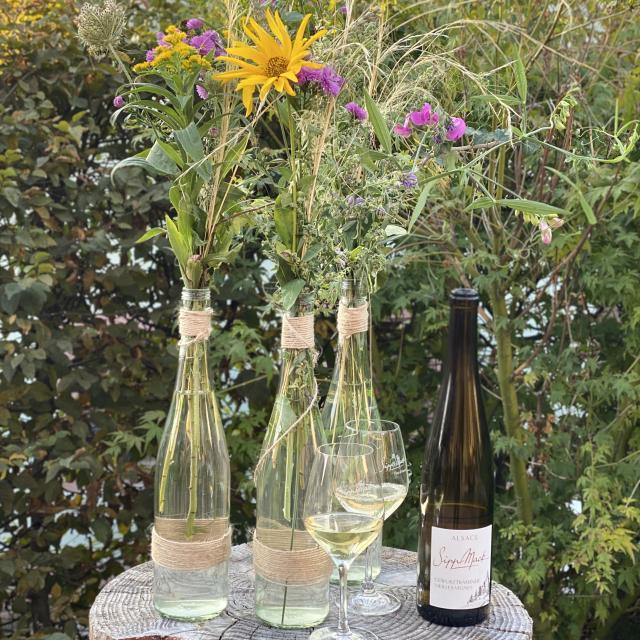 Gewurztraminer Vieilles Vignes garden