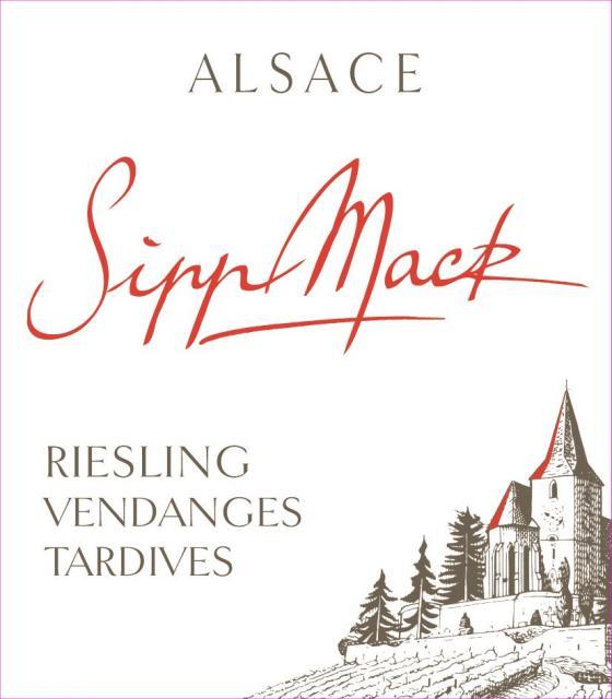 Sipp Mack Alsace Riesling Vendanges Tardives 2009