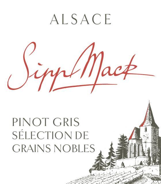 Pinot Gris Sélection de Grains Nobles 2010