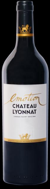 Emotion Château Lyonnat étiquette sans millesime transparent dimension