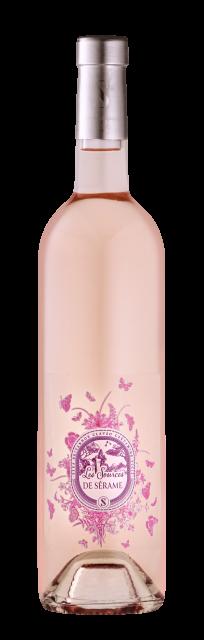 Sources de Sérame Rosé, IGP Pays d'Oc, Rosé, 2020