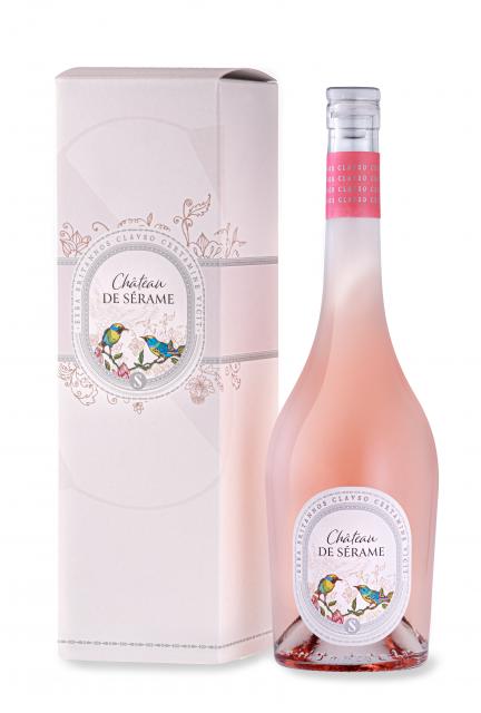 Château de Sérame Rosé - Grande Cuvée, AOP Corbières, Rosé, 2020