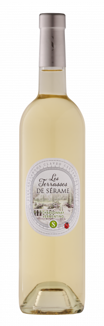 Terrasses de Sérame Chardonnay / Vermentino, IGP Pays d'Oc, Blanc, 2020