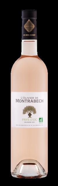 Olivier de Montrabech Rosé, IGP Pays d'Oc, Rosé, 2020