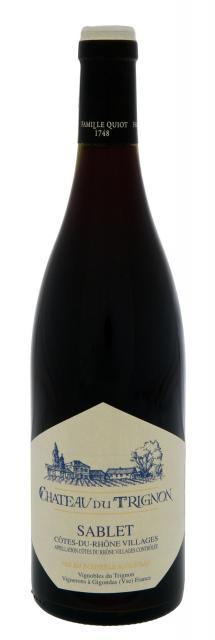 泰牛酒堡 - 罗讷河谷村庄区 – 萨布莱 - 红色