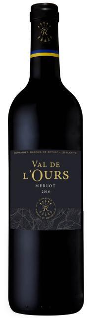 Domaine d'Aussières, Val de l'Ours - IGP, Merlot, IGP Pays d'Oc, Rouge, 2017