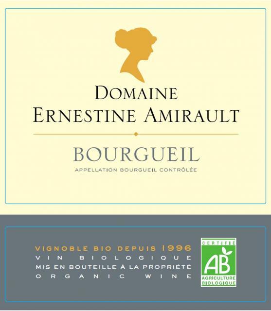Bourgueil Rouge Domaine Ernestine Amirault BIO