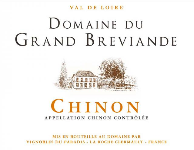 Chinon Rouge Domaine du Grand Breviande