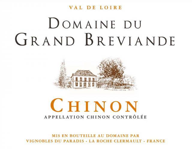 Chinon Rouge Domaine du Grand Breviande
