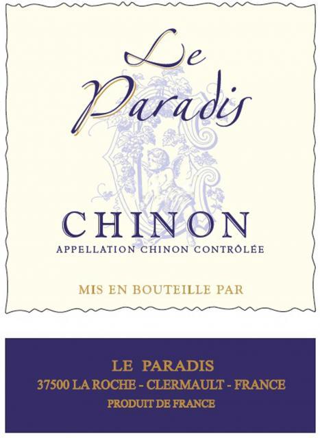 Chinon Rouge Le Paradis
