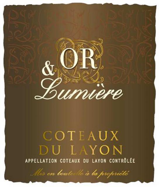 Coteaux du Layon Blanc Liquoreux Or et Lumiere