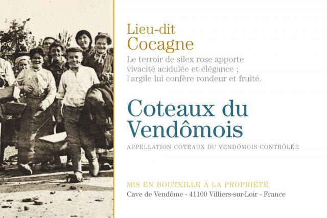 Coteaux du Vendomois Blanc Lieu Dit Cocagne
