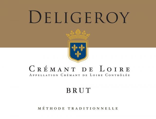 Cremant de Loire Brut Blanc Deligeroy