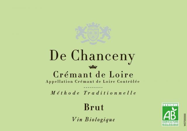 Cremant de Loire Brut De Chanceny BIO