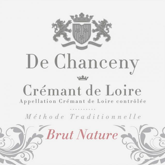 Cremant de Loire Brut Nature De Chanceny
