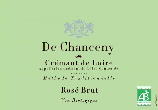 Cremant de Loire Brut Rose De Chanceny BIO