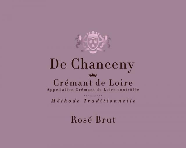 Cremant de Loire Brut Rose De Chanceny