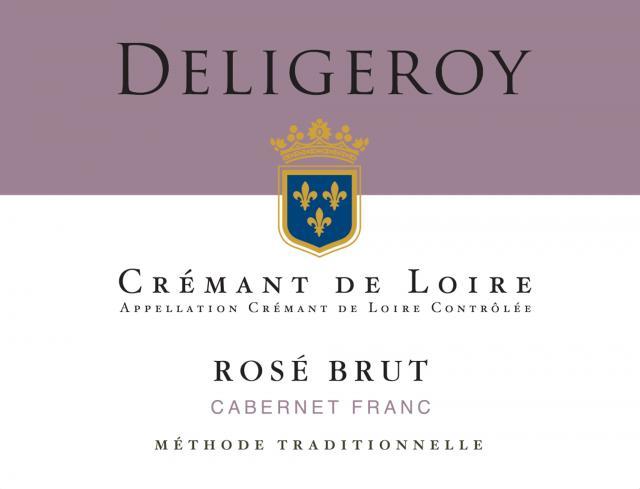Cremant de Loire Brut Rose Deligeroy