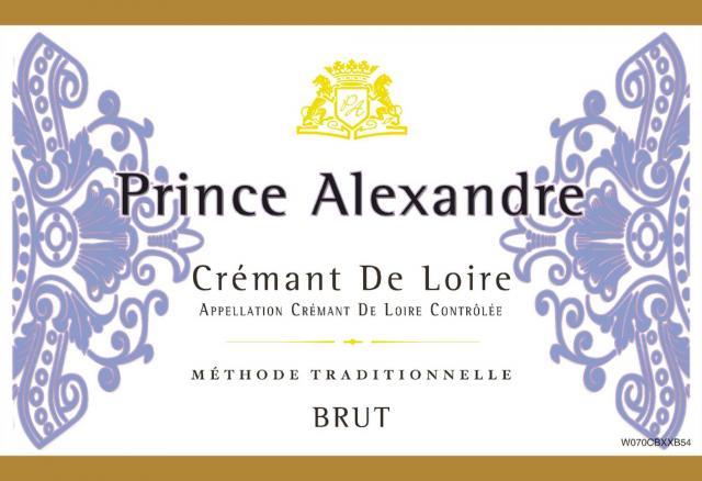 Cremant de Loire Brut Rose Prince Alexandre