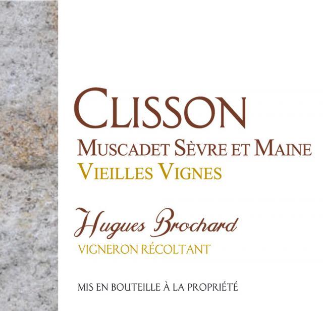 Muscadet Sevre et Maine sur Lie Blanc Clisson Hugues Brochard