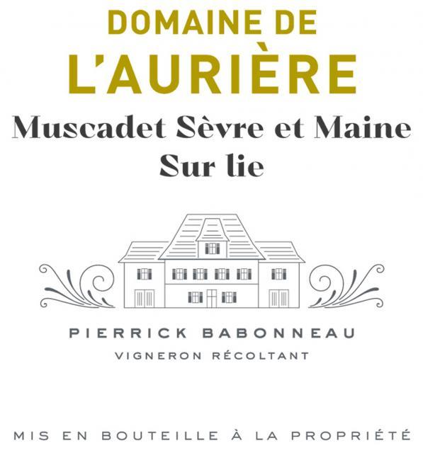 Muscadet Sevre et Maine sur Lie Blanc Domaine de L Auriere