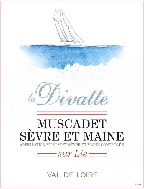 Muscadet Sevre et Maine sur Lie Blanc La Divatte
