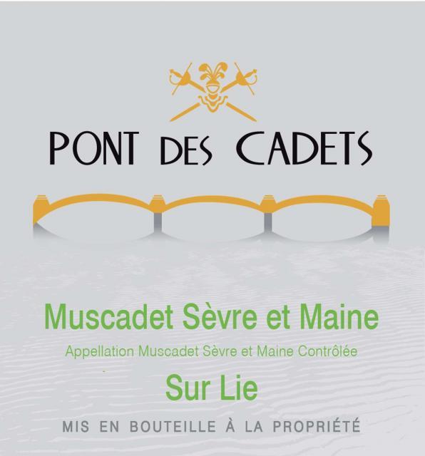 Muscadet Sevre et Maine sur Lie Blanc Pont des Cadets