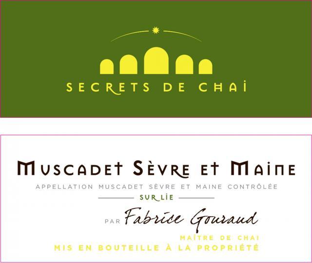 Muscadet Sevre et Maine sur Lie Blanc Secrets de Chai