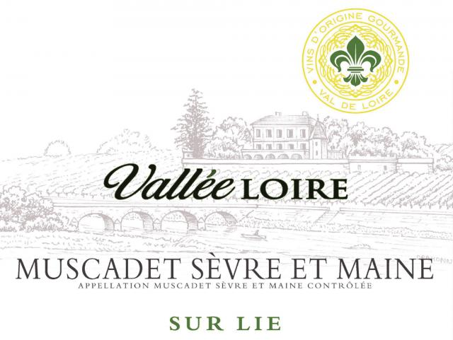 Muscadet Sevre et Maine sur Lie Blanc Vallee Loire