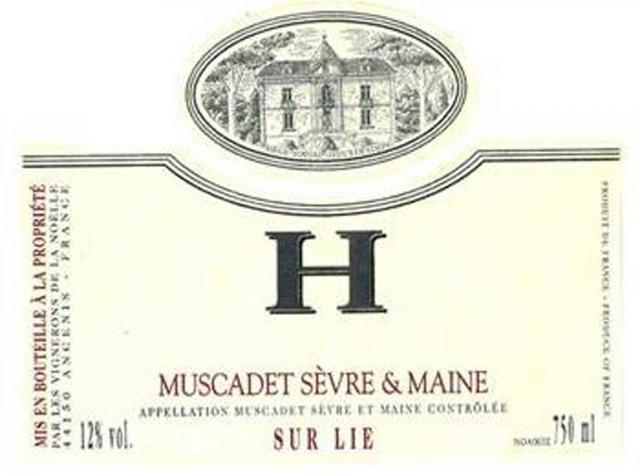 Muscadet Sevre et Maine sur Lie Cuvee H