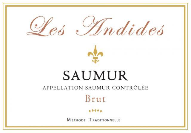 Saumur Brut Blanc Les Andides