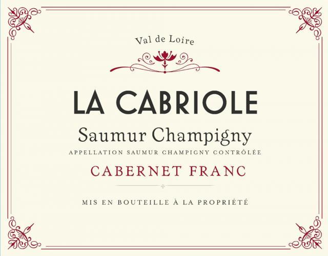Saumur Champigny La Cabriole