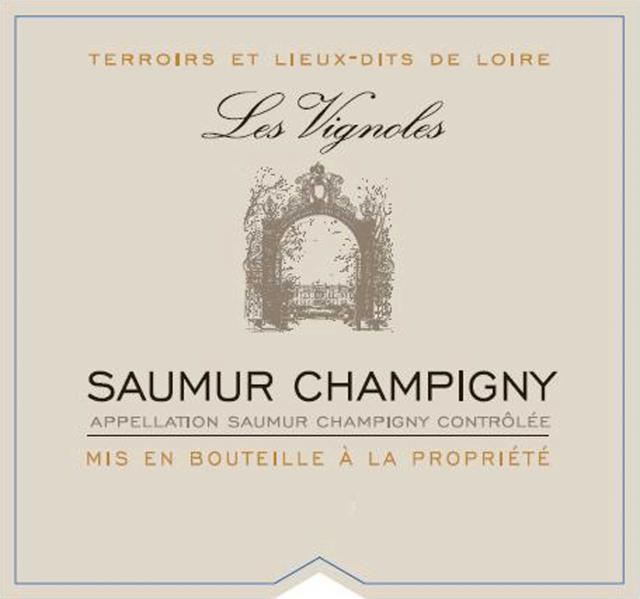 Saumur Champigny Lieu Dit Les Vignoles