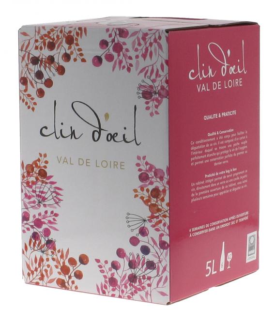 Saumur rosé Clin d'Oeil