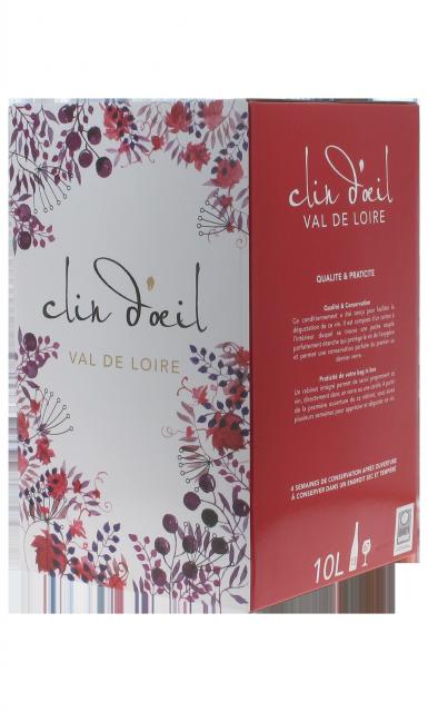 Saumur rouge Clin d'Oeil BIB 10 L