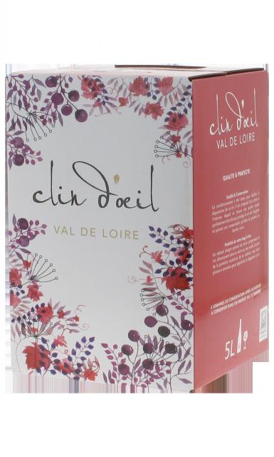 Saumur rouge Clin d'Oeil BIB 5 L