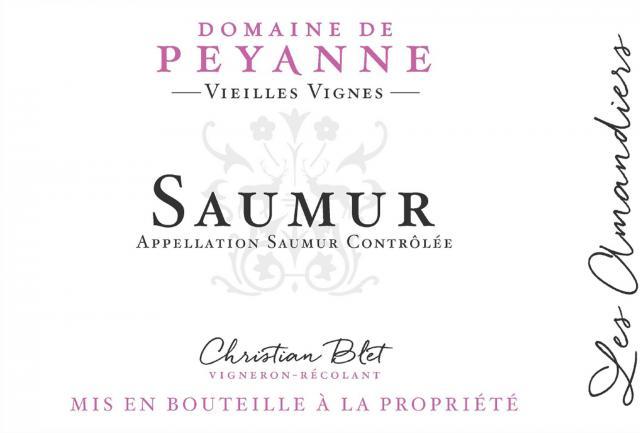 Saumur Rouge Domaine de Peyanne Les Amandiers