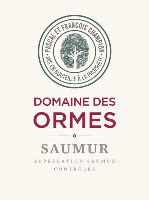 Saumur Rouge Domaine des Ormes