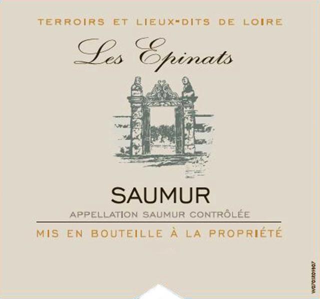 Saumur Rouge Lieu Dit Les Epinats