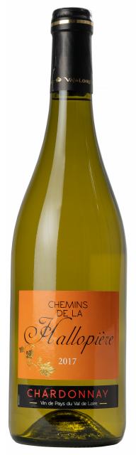 Val de Loire Chardonnay Blanc Chemins de la Hallopière