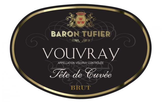 Vouvray Brut Tete de Cuvee Baron Tufier