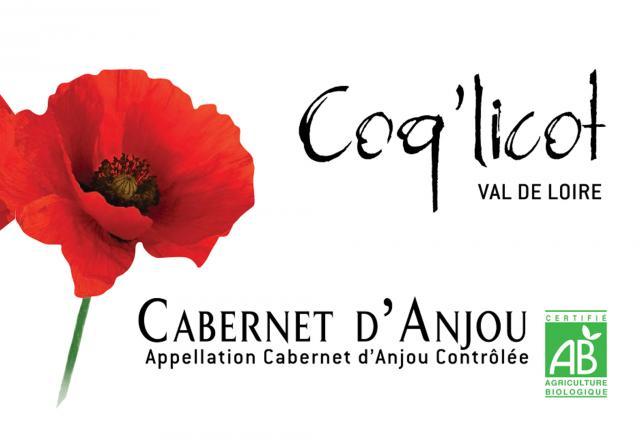Cabernet d Anjou BIO Coq licot