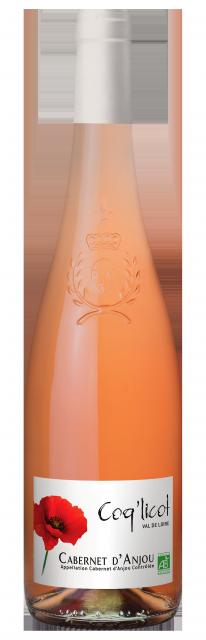 Cabernet d Anjou Rose BIO Coq licot